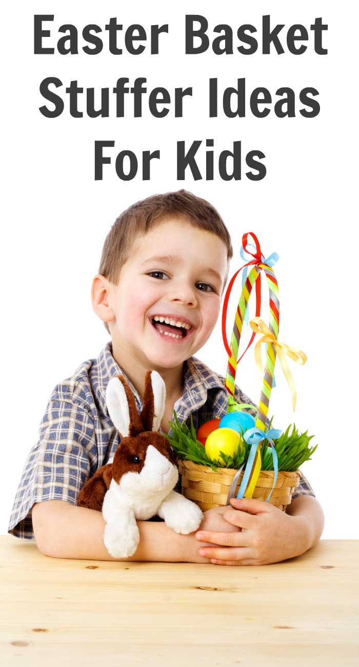 Easter Basket Stuffer Ideas For Kids